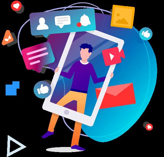 Social media marketing inbound